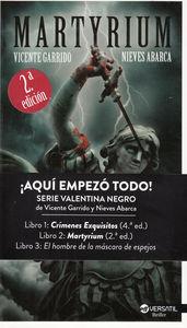 Martyrium 2ª edición: portada