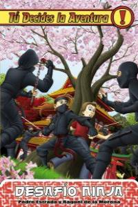Desafío Ninja: portada