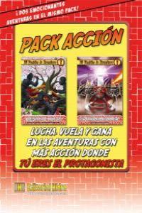 Pack AcciónTú decides la aventura: portada