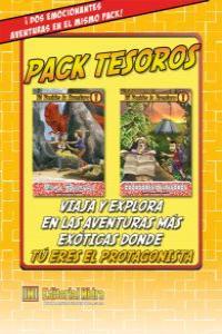 Pack Tesoros Tú decides la aventura: portada