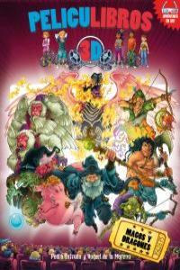 MAGOS Y DRAGONES: portada