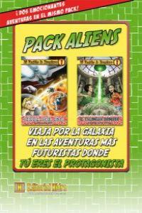 Pack Aliens Tú decides la aventura: portada