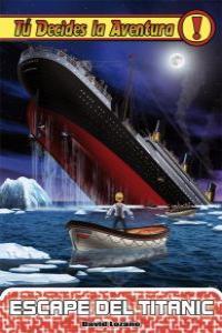Escape del Titanic: portada