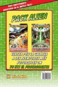 Tu tries l'aventura. Pack Alien: portada