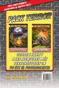 Tu tries l'aventura. Pack Terror: portada