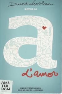 A D'AMOR - CAT: portada