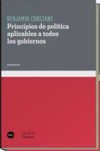PRINCIPIOS DE POLITICA APLICABLES A TODOS LOS GOBIERNOS: portada