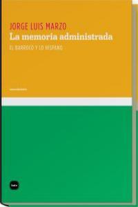 MEMORIA ADMINISTRADA,LA: portada