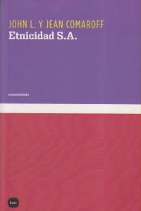 ETNICIDAD S.A.: portada