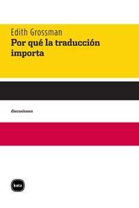 Por qué la traducción importa: portada