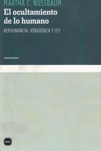 OCULTAMIENTO DE LO HUMANO,EL - RTC 2ªED: portada