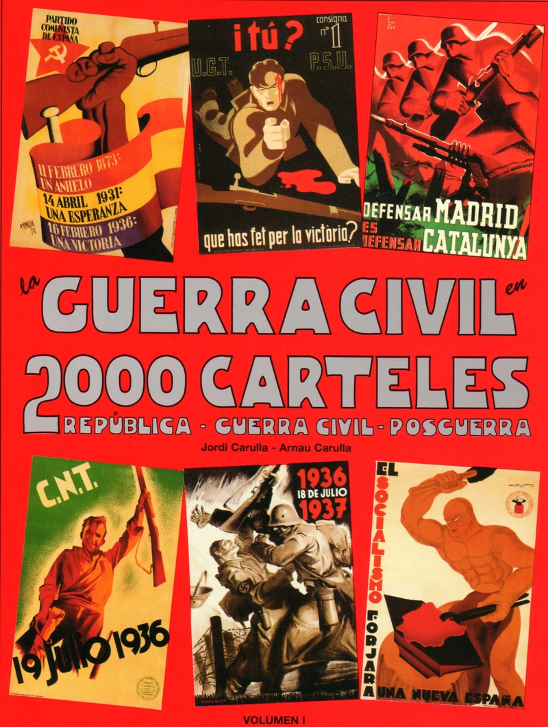 GUERRA CIVIL EN 2000 CARTELES 1 VOL: portada