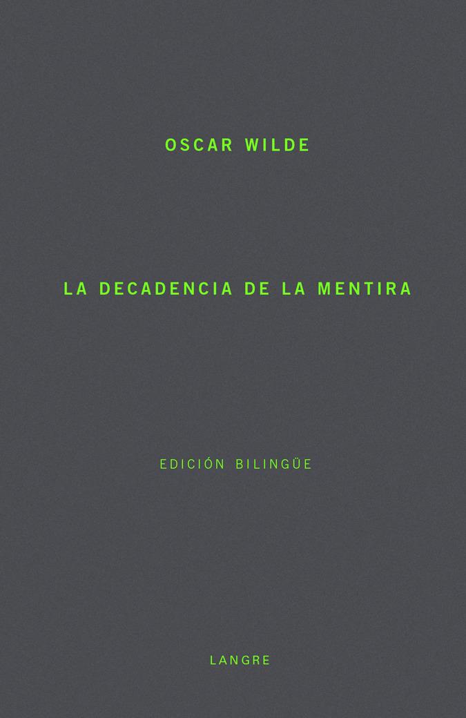 DECADENCIA DE LA MENTIRA,LA: portada
