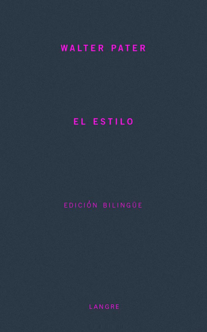 ESTILO, EL: portada