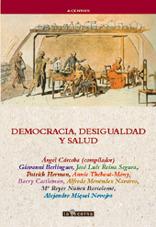 DEMOCRACIA, DESIGUALDAD Y SALUD: portada