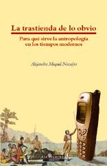 TRASTIENDA DE LO OBVIO,LA: portada