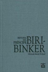 Historia del Príncipe Biribinker: portada