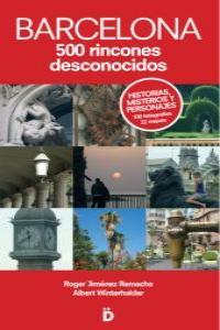 BARCELONA 500 RINCONES DESCONOCIDOS: portada