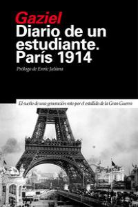 Diario de un estudiante. París 1914: portada