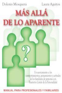 MÁS ALLÁ DE LO APARENTE: portada