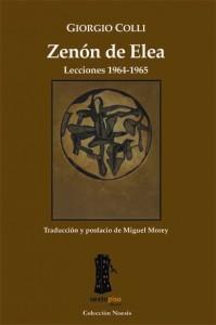 ZENON DE ELEA: portada