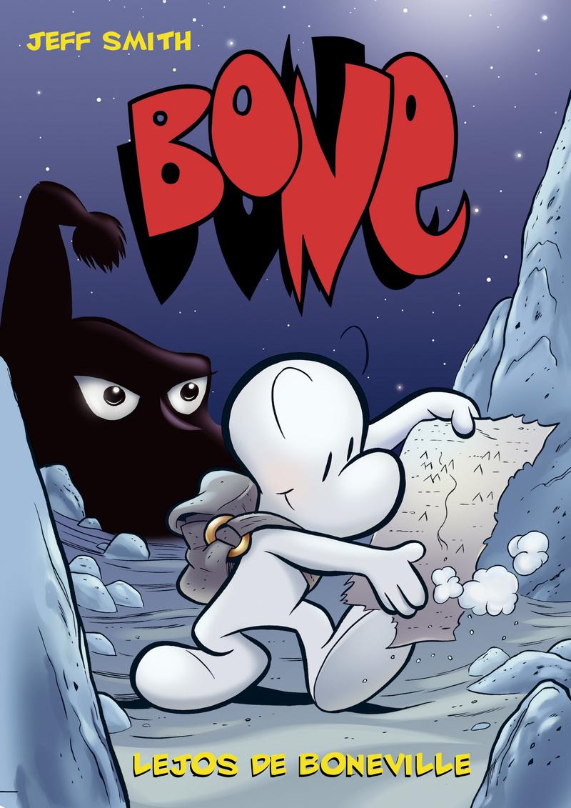 BONE 1 LEJOS DE BONEVILLE-TAPA DURA 4.ª ED.: portada