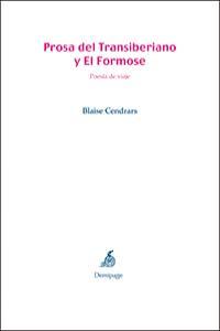 PROSA DEL TRANSIBERIANO Y EL FORMOSE: portada