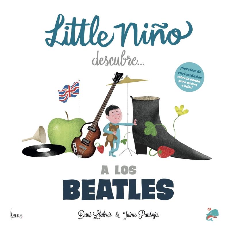 Little niño descubre a Los Beatles: portada