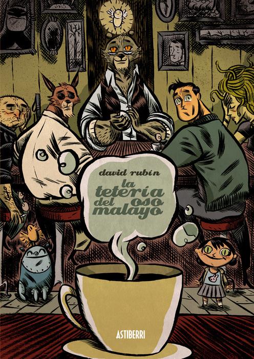 TETERIA DEL OSO MALAYO,LA 3ªED: portada