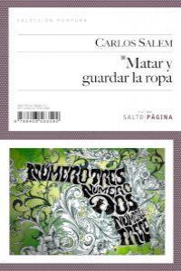 MATAR Y GUARDAR LA ROPA: portada
