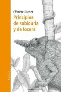 PRINCIPIOS DE SABIDURIA Y DE LOCURA: portada