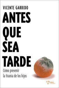 ANTES QUE SEA TARDE: portada