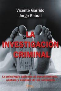 LA INVESTIGACIÓN CRIMINAL: portada