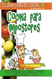COCINA PARA IMPOSTORES I 8ªED: portada