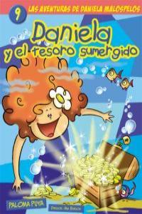 DANIELA Y EL TESORO SUMERGIDO 9: portada