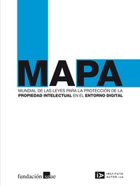 Mapa mund. leyes prop. intelect. en entorno digital: portada