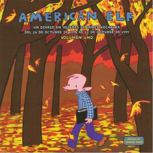 AMERICAN ELF 1: portada