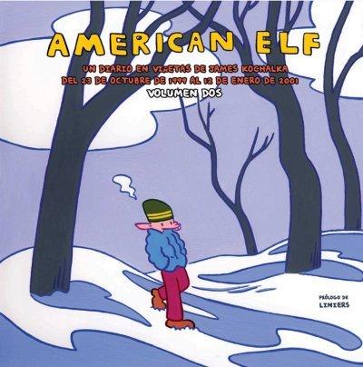 AMERICAN ELF 2: portada
