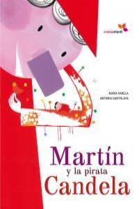 MARTIN Y LA PIRATA CANDELA: portada