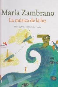MARIA ZAMBRANO LA MUSICA DE LA LUZ: portada