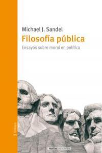 FILOSOFIA PUBLICA: portada