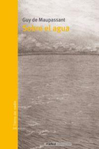 SOBRE EL AGUA: portada