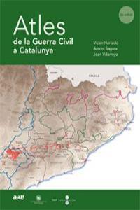 ATLES DE LA GUERRA CIVIL A CATALUNYA: portada