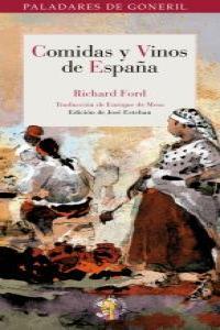 COMIDAS Y VINOS DE ESPAÑA: portada