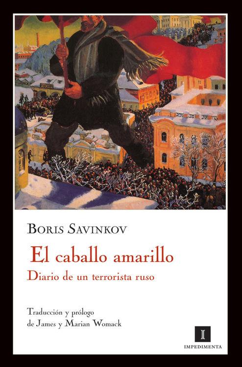 EL CABALLO AMARILLO: portada