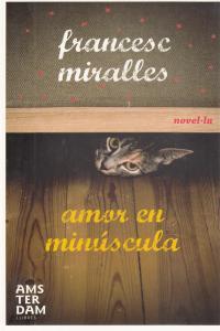 AMOR EN MINUSCULA - CAT: portada