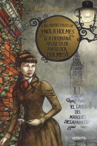 Aventuras de Enola Holmes 1, Las: portada