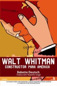 WALT WHITMAN CONSTRUCTOR PARA AMERICA: portada