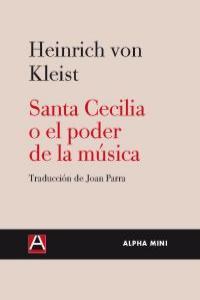 SANTA CECILIA O EL PODER DE LA MUSICA: portada