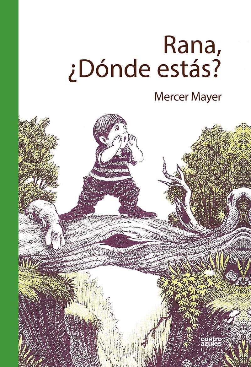 RANA¿ DÓNDE ESTÁS?: portada